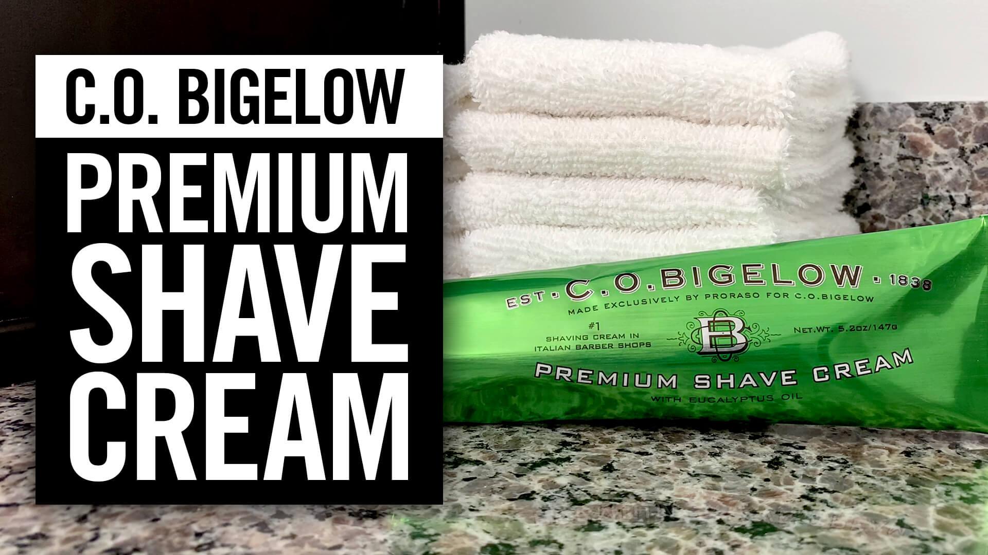 C.O. Bigelow: Premium Shave Cream