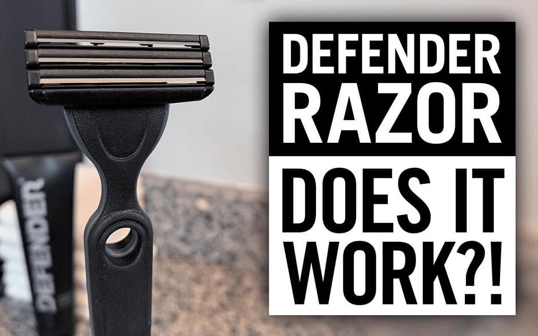 Defender: Razor & Shave Cream